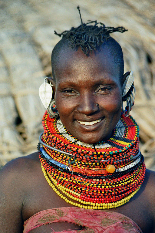 African Tribal Women Elegance of tribal women