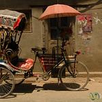 Bicycle Ricksaw - Kathmandu, Nepal