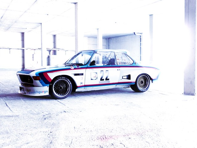 BMW CSL Batmobile