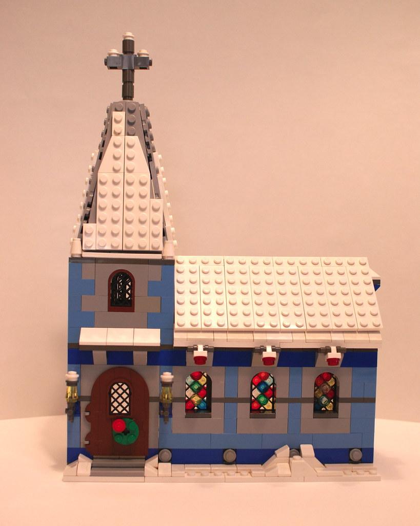 Lego Winter Village Church A Photo On Flickriver