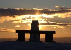 Sunset Baildon Hill