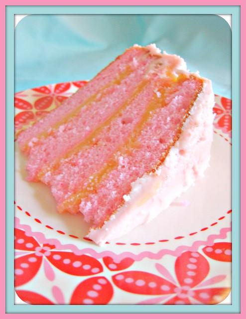 Pink Champagne Cake Images : pink champagne cake sliced Flickr - Photo Sharing!