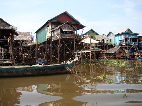 Siem Reap,  Cambodia, Floating Village by Vasenka