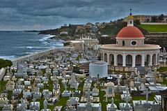 Cementario Santa María Magdalena de Pazzis in Old San Juan, Puerto Rico