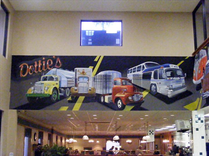 Truck Mural