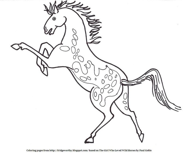 Appaloosa Horse Coloring Pages