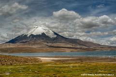 Volcan Parinacota - Lago Chungara