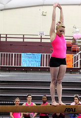 TWU Gymnastics Beam - Paisley Reed