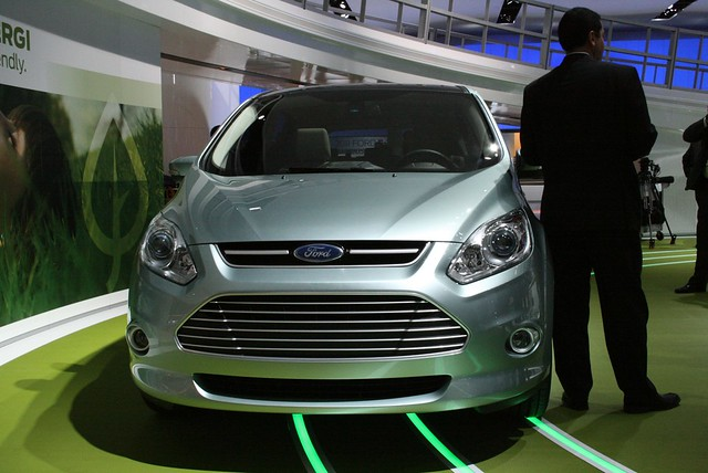 2011 Detroit: 2013 Ford C-MAX Energi