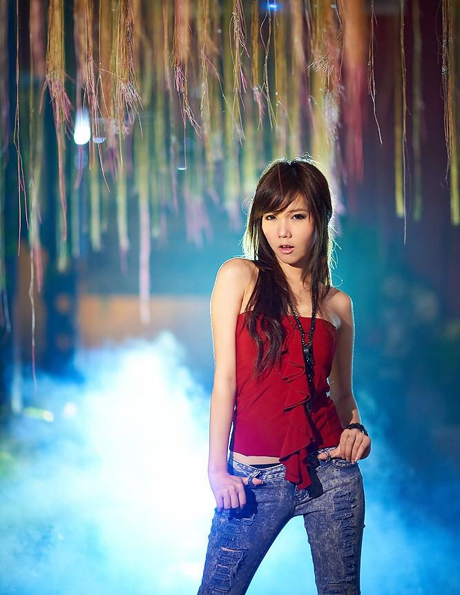 beautiful thai girl portrait photoshop woman fashion