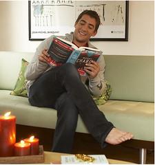 Robert Pattinson Barefoot on Jonathan Togo Barefoot