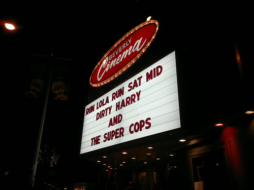 Marquee at New Beverly