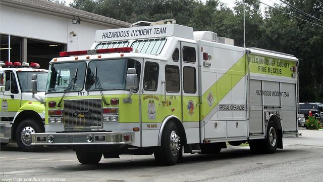 hillsborough county fire rescue - hazardous incident team - hit 9
