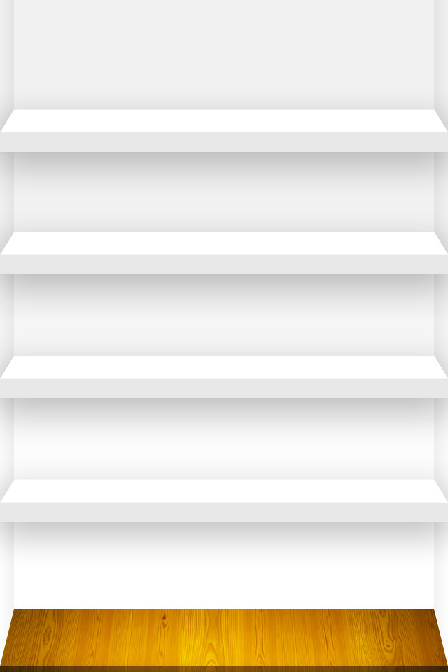Plain White Shelves Wonderful Interior Design For Home