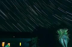 French star trails