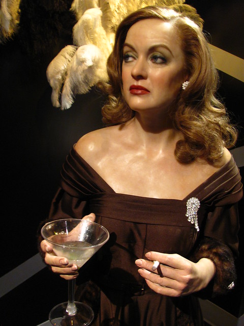 Bette Davis Margo Channing Figure At Madame Tussauds