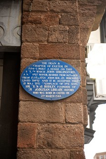 Blue Plaque to commemorate John Shillingford