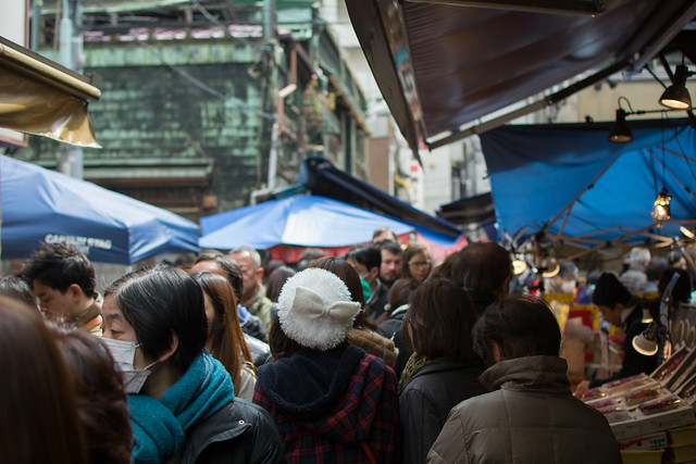 Tsukiji Crowd