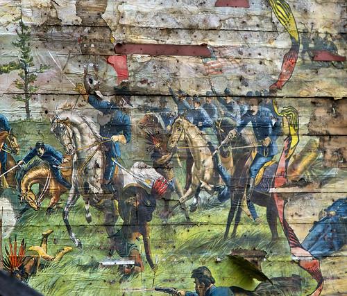 mural vermont demolition barre wildwestshow 4paw