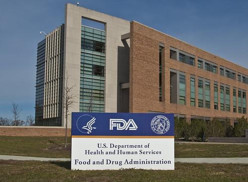 fda sign amp bldg 21 at entrance fda building 21 stands