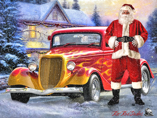 Santa, The Hot Rod Years ……