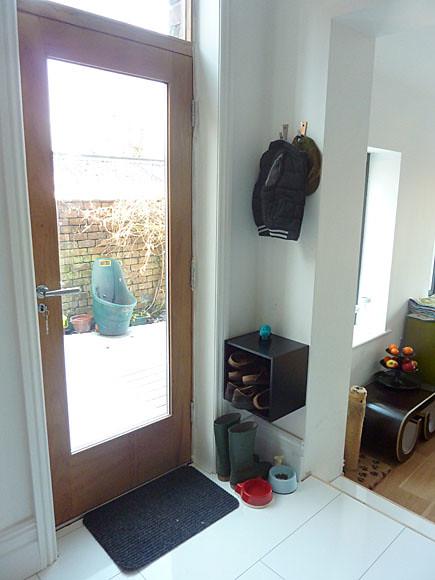 New back door in kitchen flickr photo sharing for Kitchen back door