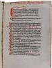 Manuscript rubrication in Gerson, Johannes: De ecclesiastica potestate et de origine iuris et legum tractatus
