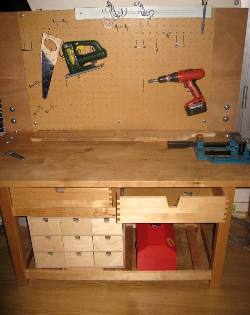 Toddler Wood Workbench, 100e