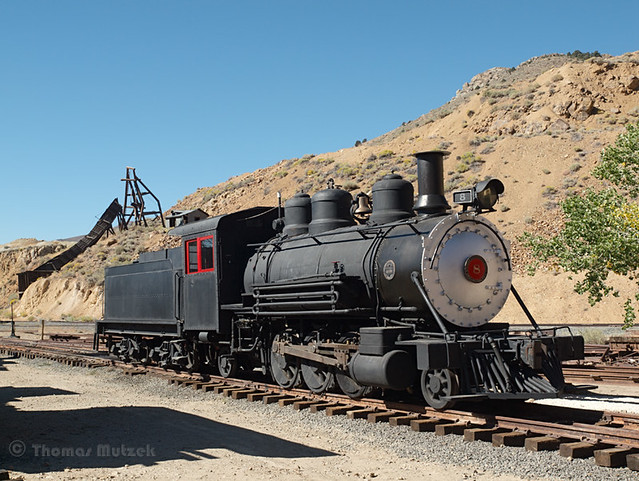 Locomotive #8, Virginia City, Nevada, September 2010