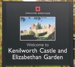Kenilworth Castle-English Heritage.