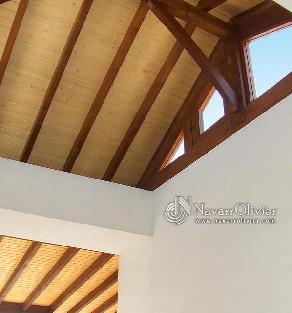 Techos de madera para terraza de duplex flickr photo - Techo de madera ...