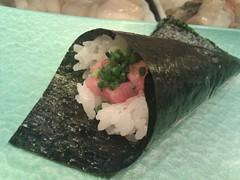 algae(0.0), sushi(1.0), japanese cuisine(1.0), food(1.0), dish(1.0), cuisine(1.0), onigiri(1.0),