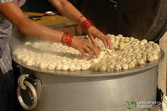 Steamed Dumplings (Momos) - Bakhtapur, Nepal