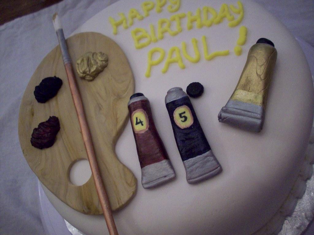 Artist's Birthday Cake
