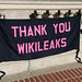 Code Pink supports Wikileaks at Pelosi & Feinstein's homes