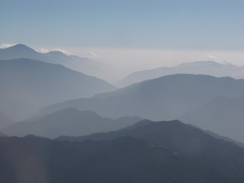 Bhutan fades into mist and memory