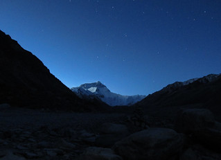 Everest under the stars