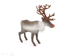 animal, animal figure, deer, horn, illustration, reindeer,