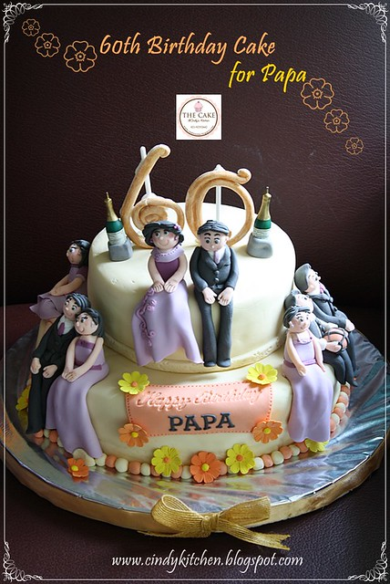 60th Birthday Cake for Papa  Flickr - Photo Sharing!