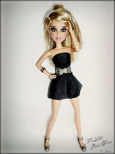 "Top Doll - Theme 2 Part 1/2 ""Little Black Dress"" (Sloane)"