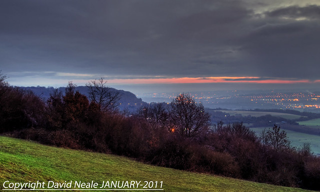 Evening Sky - Bluebell Hill Viewpoint