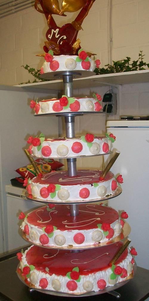 Gateau Mariage Glace Fruité Gâteau De Mariage Glacé Fruité
