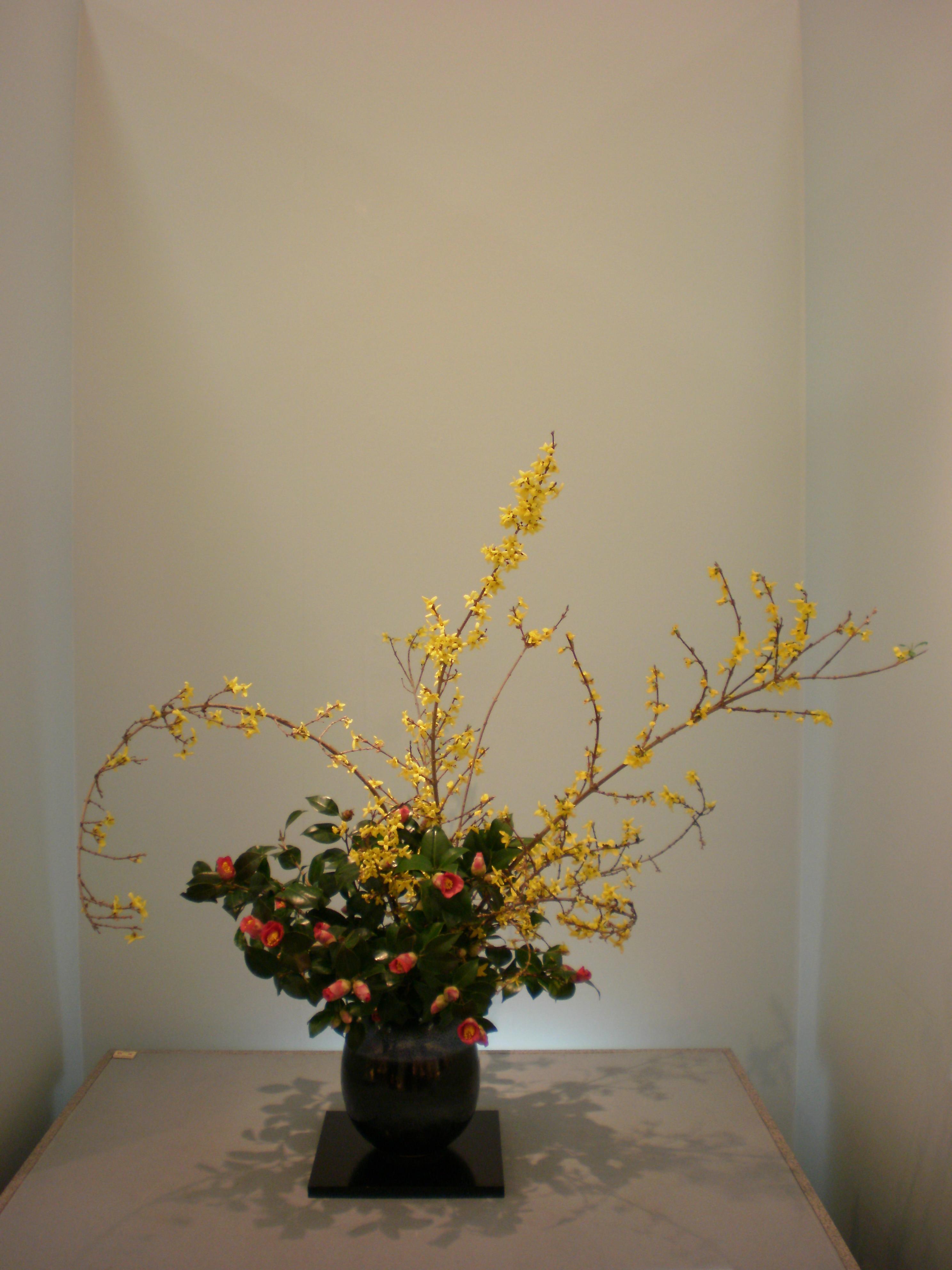 Japanese flower arrangement 31 Ikebana いけばな