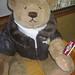 Small photo of Gund aviator bear