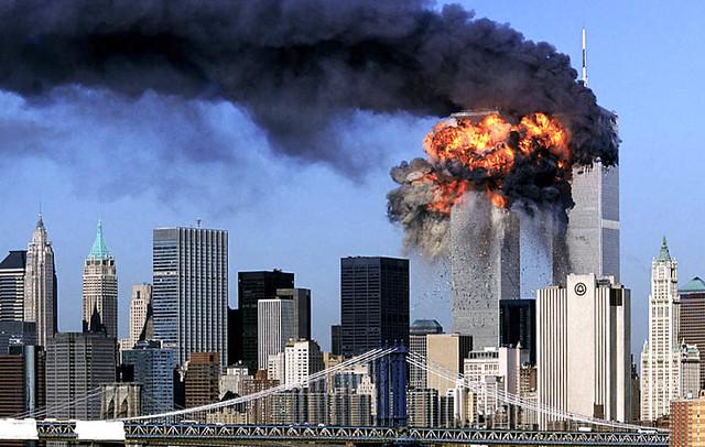 Flight 175, 9-11, by Robert Clark