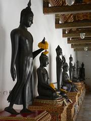 Buddhas, Wat Benchamabophit, Bangkok