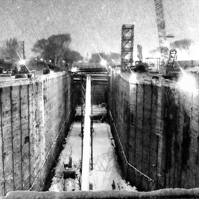 Light Rail in Snow