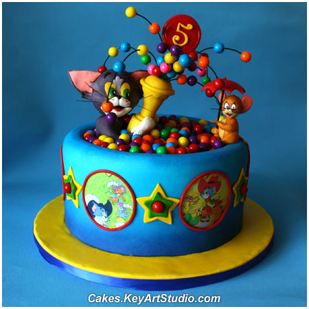 Tom And Jerry Cake Figures