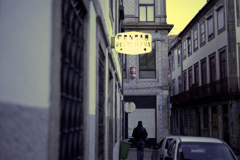 uma pensão portuguesa
