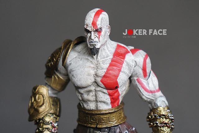 Action figure Kratos Medusa head - God Of War